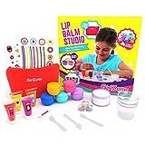GirlZone Geschenke für Mädchen - Lippenbalsam Selber Machen, 21-teilig- Kinderschmink Set - Kinder Lippenstifte - Kinderkosmetik Make-up-set geschenke für kinder 6-10 Jahre