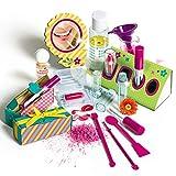 Experimentierkasten Galileo Lippenstift herstellen für Kinder Lippenstifte Lippenbalsam mit Duft Duftstift Kinder Schminke Kosmetik selber machen Lip Gloss Bastelset Spa Beauty Spielzeug Kreativ Set