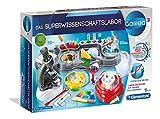 Clementoni 59083 Galileo Science – Das Superwissenschaftslabor, 150 spannende Versuche für Zuhause, Labor mit Mikroskop & Zentrifuge, Spielzeug für Kinder ab 8 Jahren