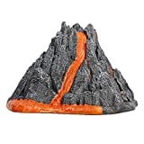 XIMIN Simulation Vulkanausbruch Modell Spielzeug, DIY Simulation Sound Lichtspray Vulkan Spielzeug Ornament, Kinder Wissenschaft & Bildung Spielzeug, ausbrechend Vulkan Science Kit