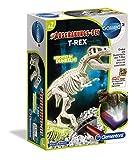 Clementoni 69404 Galileo Science – Ausgrabungs-Set T-Rex, Ausgraben von Dinosaurier-Fossilien mit Hammer & Meißel, für kleine Forscher, Spielzeug für Kinder ab 7 Jahren