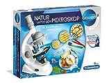 Clementoni 69804 Galileo Science – Natur unter dem Mikroskop, spannendes Labor für kleine Forscher, Spielzeug für Kinder ab 9 Jahren, Mikrobiologie für Schulkinder zu Weihnachten