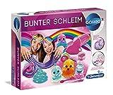 Clementoni 59172 Galileo Science – Bunter Schleim, Experimente mit klebrigem Glibber & glitzernden Substanzen, Spielzeug für Kinder ab 8 Jahren, für kleine Chemiker zu Weihnachten