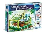 Clementoni 59081 Galileo Science – Experimentieren im Gewächshaus, Pflanzkasten & Samen für Mini-Gärtner und angehende Botaniker, Spielzeug für Kinder ab 7 Jahren