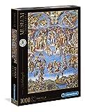 Clementoni 39497 Michelangelo – Das jüngste Gericht – Puzzle 1000 Teile, Museum Collection, Geschicklichkeitsspiel für die ganze Familie, Erwachsenenpuzzle ab 14 Jahren