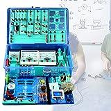 LXX Physik Baukasten Elektrobaukasten für Kinder Physik Elektrizität und Magnetismus Experimente Experimentierkasten Physik Elektrische Schaltung Lernkit