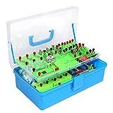 Huachaoxiang Physik Spielzeug Experimente Für Kinder STEM Toys Elektro Experimentierkasten-Elektrizität Und Magnetismus,Physik Baukasten Für Erwachsene,Kinder, Junior, Senior High School Schüler,Blau