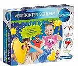Clementoni 59173 Galileo Science – Verrückter Schleim, Experimente mit klebrigen & leuchtenden Substanzen, Spielzeug für Kinder ab 8 Jahren, für kleine Chemiker zu Weihnachten