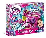 Clementoni 15279 Crea Idea-Pailetten-Labor, Bastelset für Kinder ab 8 Jahren, Mehrfarben